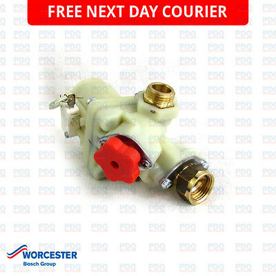 Worcester RD532 & RD537I Water Valve 87170021100 - GENUINE, BRAND NEW & FREE P&P