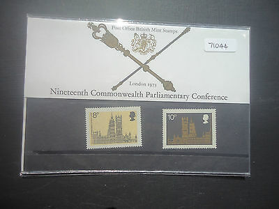 Great Britain Presentation Pack 1973 Parliamentary Conference MNH