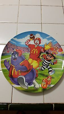 McDonalds Football Collector's Plate