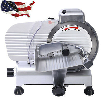 """Commercial 10"""" Blade Meat Slicer Deli Meat Cheese Food Slicer Industrial Quality"""