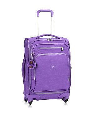 Kipling Youri Spin 55 Spinner Trolley Vivid Purple RRP £157**Cabin Luggage**
