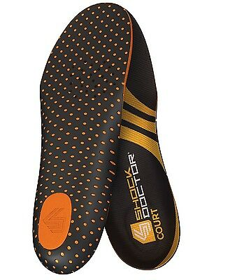 Shock Doctor Court Insoles Basketball Volleyball Tennis (PAIR)