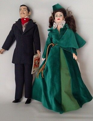 Gone With The Wind Dolls Limited Edition 1989 Rhett Butler Scarlet O'Hara