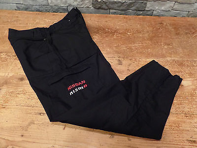 Nissan Nismo Cargo Pants Shop Pants Work Race Poly/Cotton Regatta Men's 28 x 29