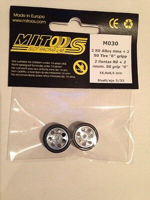 Mitoos M030 Lightweight Racing Alloy Wheels M020 & M000 S0 Zero Grip 17x8.5mm