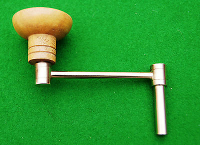 Antique Longcase Clock Crank Key No 4 (3.25 mm Square 5.5 mm Shaft) • £7.90