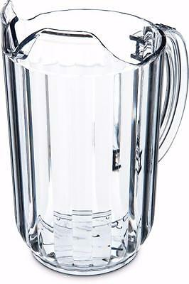 Carlisle 553807 Pitcher 48 oz Clear Case of 6