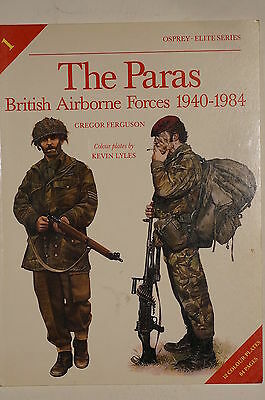 WW2 British Airborne Forces Paras 1940-1984 Osprey Reference Book