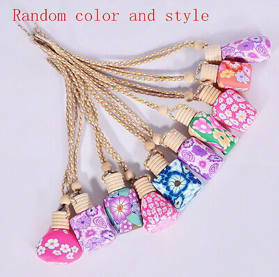 Hanging Diffuser NEW Bottle HOT Car Air Freshener Printed Perfume Fragrance