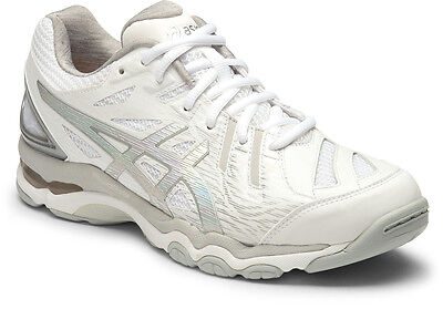Asics Gel Netburner Super 6 Womens Netball Shoes (B) (0193) + Free Aus Delivery