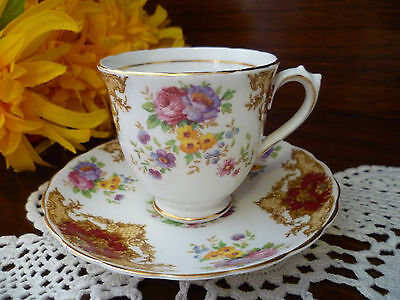 Beautiful Provence Coffee Set Size Cup & Saucer  Tuscan   Made In England
