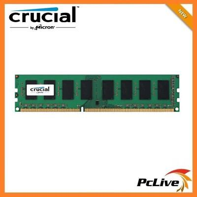 Crucial 8GB DDR3 1600 Mhz Memory High Performance 1.35v RAM for Desktop PC 12800
