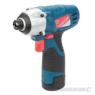 Silverline 263302 Silverstorm 10.8V Li-Ion Impact Driver Power Tools Drilling
