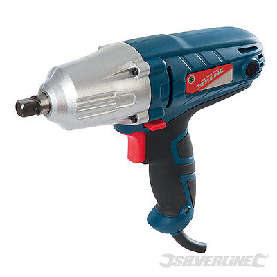 """Silverline 593128 Silverstorm 400W Electric Wrench torque 1/2"""" sq drive 350nm"""