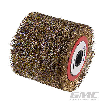 GMC 872984 Steel Wire Brush Drum 100 x 115mm fits burnisher replacement