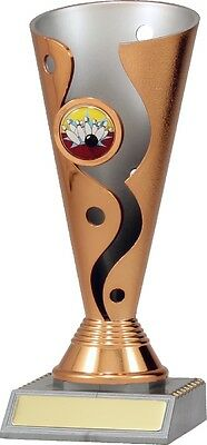 Tenpin Bowling Carnival Cup Trophy Award 195mm FREE Engraving X6015
