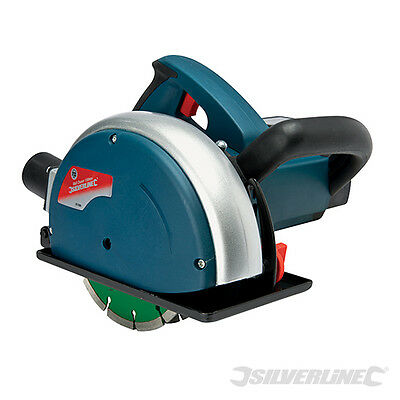 Silverline 817089 Silverstorm 1600W Wall Chaser 150mm 1600W Laying Cables