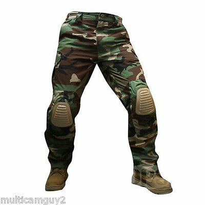 Ops/ur-Tactical Advanced Fast Response Pants In Woodland Camo - Mr