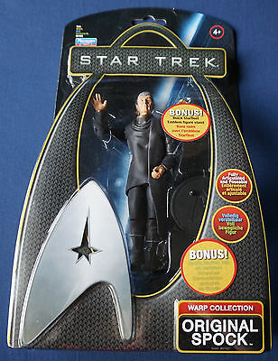 "Original Spock / Star Trek / Warp Collection / 6"" Action Figure / Playmates 2009"