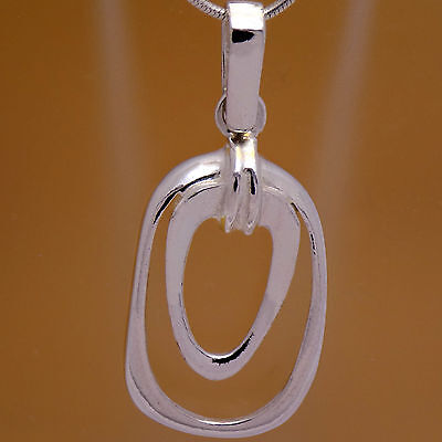 Vintage Stunning Solid 925 Sterling Silver Stylish Fancy Design Charming Pendant