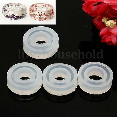 Silikonform Ring Schmuckgießform silicone mould Flat Cambered 18mm 19mm