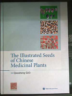 The Illustrated Seeds of Chinese Medicinal Plants - limit supply, colorful - X