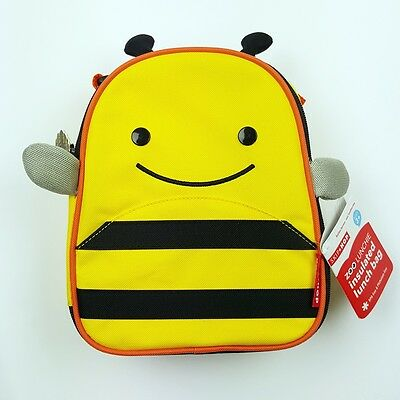 Skip Hop Zoo Kids Lunchie Insulated Lunch Bag - Bee - New