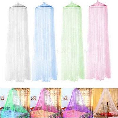 Elegant Round Insect Canopy Netting Curtain Bed Outdoor Dome Mosquito Net UK