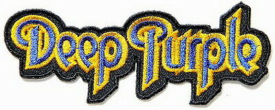 DEEP PURPLE Embroidered Sew On Iron On Rock Metal Shirt Bag Badge Patch