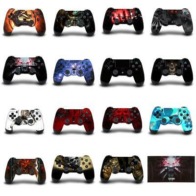Skin Cover Adesive Sticker Decal Per Sony Playstation PS4 Controller - 15 Design