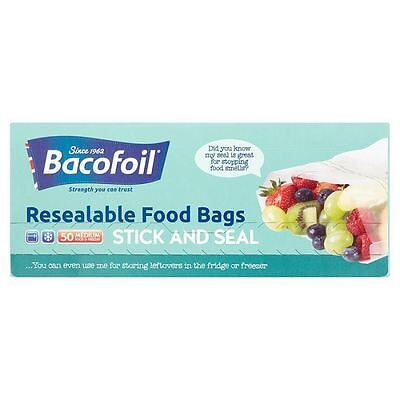 Bacofoil Baco Baco Press & Seal Sandwich Bags 50s (Pack of 3)