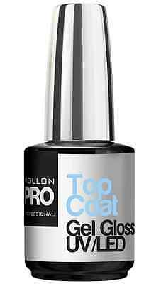 TOP COAT GEL UV LED PRO (12ml) ONGLES COSMETIQUE MANUCURE INSTITUT ESTHETIQUE