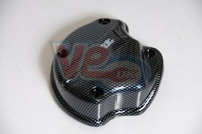 Aprilia Mojito SR 50 Carbon Look Side Casing Oil Pump Cover W/out Air Feed Inlet
