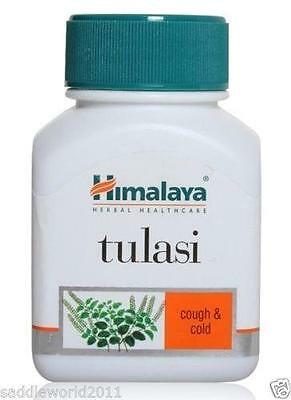 Himalaya Herbal Tulasi Tulsi 60 tablets .Relieves Stress, Cough & cold Problem