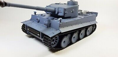2.4ghz 1:16 Heng Long German Tiger Tank Smoking Sound Radio Control Army Tank