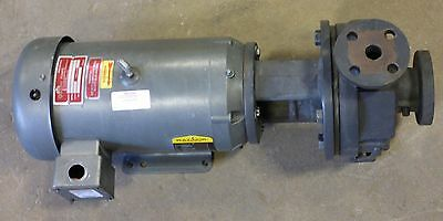 Gusher PCL1x1.5-6SEH-CC-A 7.5 Hp Centrifugal Coolant Pump With Baldor Motor