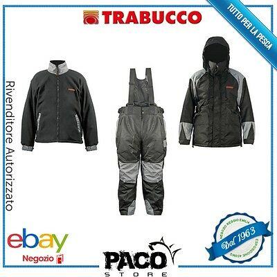 Completo Impermeabile Pesca Gnt Breathable Suit Tg Xxxl Trabucco 049-20-500