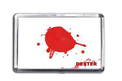 Dexter Morgan Blood Slide Fridge Magnet From The TV Show Collectable Design