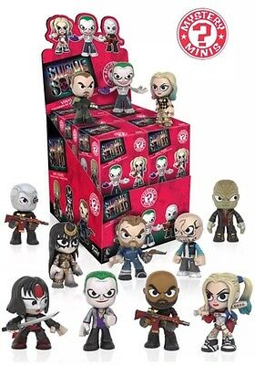 Funko Mystery Minis SUICIDE SQUAD Case Of 12 Vinyl Blind Box DC Comics
