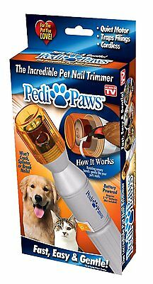 Pedi Paws  The Incredible Pet Nail Trimmer Cats Dogs FAST , EASY & GENTLE!