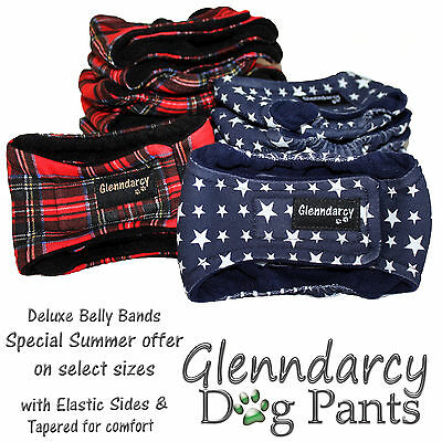 Glenndarcy Belly Bands For Male Dogs / Urine Marking Nappy / Incontinence