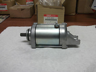 Starting Motor Ass'y, New Oem, '01-'06 Suzuki Gsf 1200 S Bandit, Retail $462.32