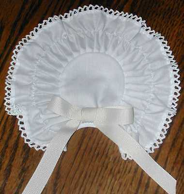 Pinner Cap 18th. Century Colonial Costume