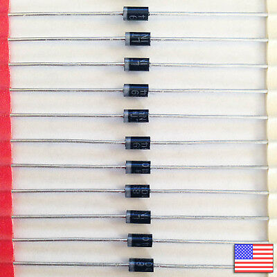 10x (10pcs) 1N4004 Rectifier Diode 1A 400V IN4004 - US Seller - Free Shipping