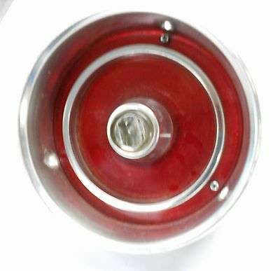 1962 Ford  Sae-R 62 Fd Auto Car Tail Light Assembly Lens Bezel Housing   Bin206