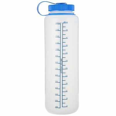 Nalgene Ultralite 48oz Wide Mouth Water Bottle Natural HDPE BPA Free Safe