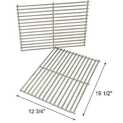BBQ Grill Cooking Grates Solid Stainless Steel Rods Weber Genesis S310 E310 E320