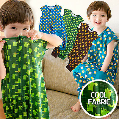 "NWT Vaenait Baby Boy Clothes Kids Blanket Sleepsack ""Summer boys coolcool"" 1T-7T"