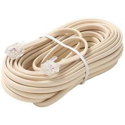 Steren Premium Telephone Line Cable - for Phone - 25 ft - Ivory BL-324-025IV