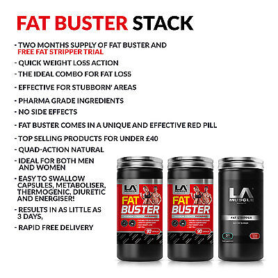 La Muscle Two Months Fat Buster Deal